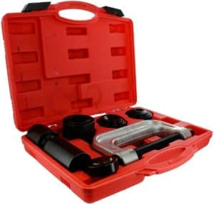 Compact Ball Joint Tool Set With Adapters
