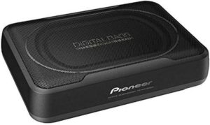 Compact Active Under Seat Car Subwoofer