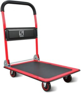 Foldable Hand Truck With Extra Large Base Plate