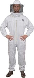 Polycotton Bee Suit With Round Veil