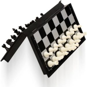 Travel Chess Set With Foldable Board