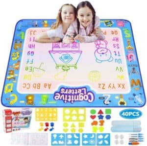 Super Large Water Doodle Drawing Mat With 40 Accessories