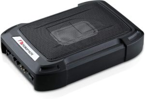 Under Seat Car Subwoofer With Built-In Amplifier & Remote Control