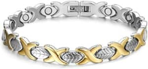 Adjustable Titanium Steel Magnetic Bracelet For Women