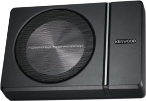 Sleek Under Seat Car Subwoofer With Remote Control