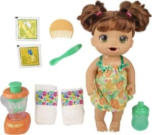 Tropical Treat Baby Doll With Magical Blender