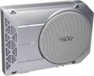 Ultra Compact Under Seat Car Subwoofer
