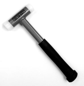 Durable UPE Plastic Dead Blow Hammer