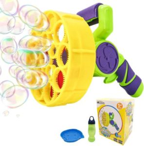 Large Automatic Bubble Gun with Solution Refill