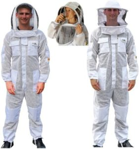 Super Ventilated Bee Suit With Round Brim Hat