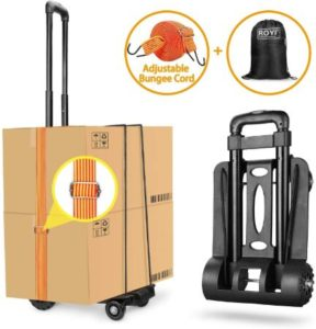 Compact Folding Hand Truck With Solid Construction