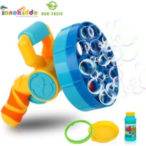 Electric Bubble Guns With 2 Bubble Wands