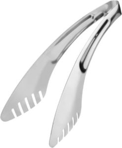 Stainless Steel Tongs For Salad & Kitchen 9-Inch