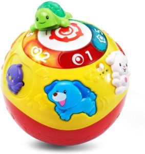 Colorful Wiggling & Crawling Toy Ball