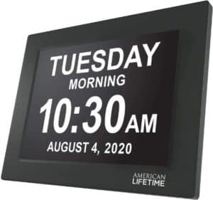 Extra Large Digital Wall Clock With 5 Alarm Options