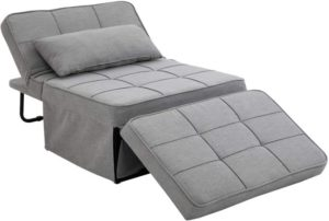 4-In-1 Flip Chair Bed With Adjustable Reclining