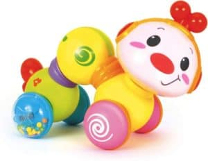 Baby Crawling Toy With Flash Lights & Music