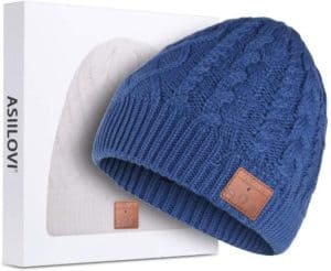 Bluetooth Beanie With Double Lining Fleece