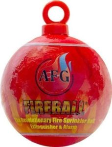 Mini Fire Extinguisher Ball With Hanging Loop