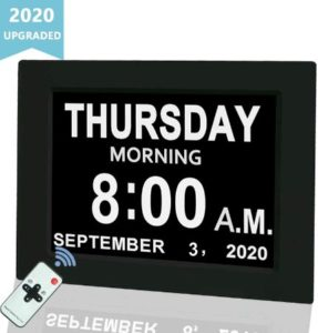 Digital Wall Clock With Large Screen Display