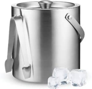 Large Stainless Steel Double Wall Ice Bucket