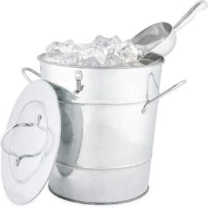 Galvanized Stainless Steel Ice Bucket
