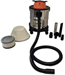 Versatile Ash Vacuum With Dual HEPA Filters