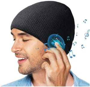 Double Knitted Bluetooth Beanie