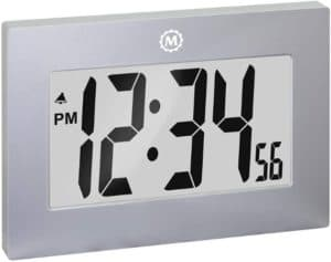 Large Digital Wall Clock With Table Stand