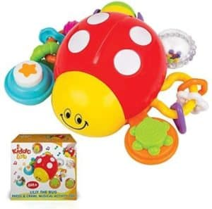 Crawling Lady Bug Toy With Music