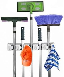 Durable Plastic Broom Holder
