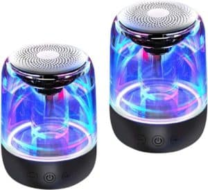 True Wireless Dancing Water Speakers With LED Light