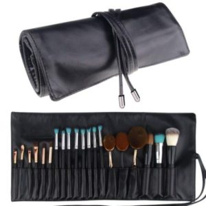 Make Up Brush Rolling Pouch Bag