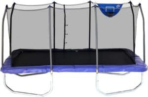 Rectangle Trampoline With Enclosure Net