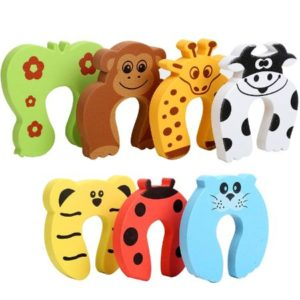Finger Pinch Guards Set With Cute Animal Design