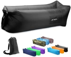 Inflatable Lounger Couch With Anti-Deflation Technology