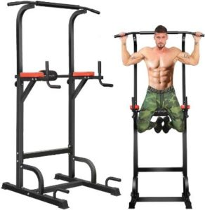 Multifunction Pull Up Bar & Dip Station