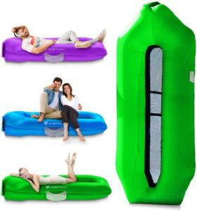 Anti-Leaking Inflatable Lounger WIth Floating Design