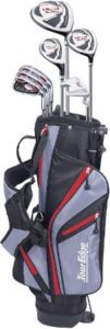Junior Golf Bag Set With Oversized Iron Clubs