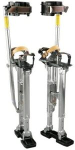 Strong Aluminum Drywall Stilts With Foot Harness