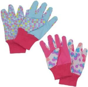 Colorful Kid's Gardening Gloves Pack