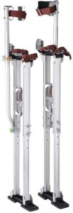 Durable Drywall Stilts With Dual Action Springs
