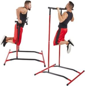 Portable Free Standing Pull Up Bar & Dip Station
