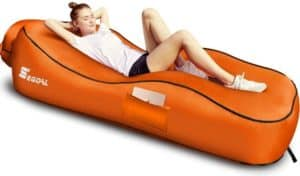 Waterproof Nylon Inflatable Lounger
