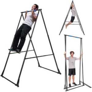 Foldable & Versatile Free Standing Pull Up Bar