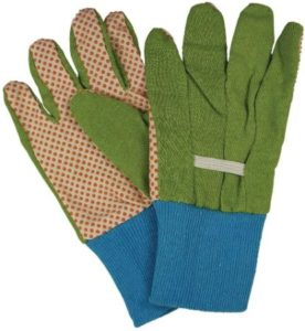 Kid's Gardening Gloves With PVC Dots Palm