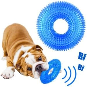 Durable Squeaky Pool Toy For Bulldogs