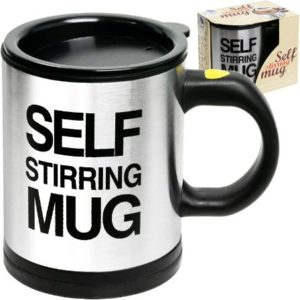 Electric Stainless Steel Self Stirring Mug