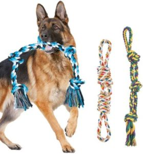Heavy Duty & Tough Cotton Rope For Large Bulldogs