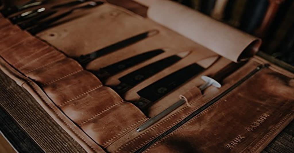 Leather Knife Rolls